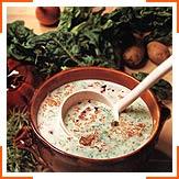 Зелений суп-пюре