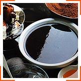 Теплый шоколадный соус