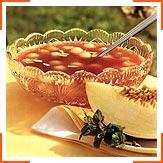 Холодный фруктовый суп из дыни