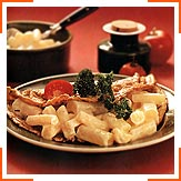 Млинці з солодкими коренями та соусом із йогурту