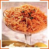 Салат з сирої моркви