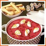 Холодный суп из красной смородины