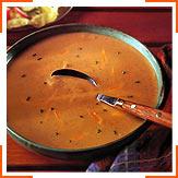 Суп із цвітної капусти та сиру