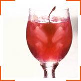 Гранатовый сок с содовой