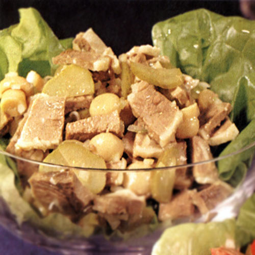 Салат з телятини