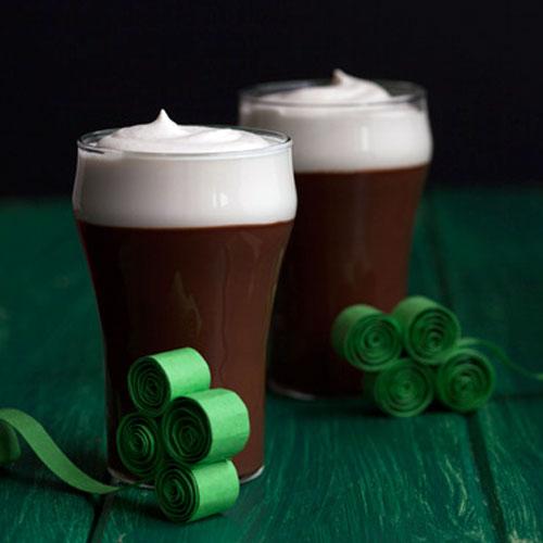 Шоколадный пудинг с пивом Guinness