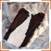 Немецкий шоколадный торт-мороженое
