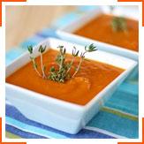 Марокканский пряный морковный суп