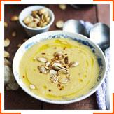 Тыквенный суп с кокосовым молоком и лаймом