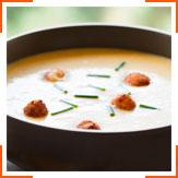 Пряний суп зі сквошем