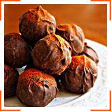 Шоколадні трюфелі з каєнським перцем
