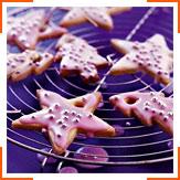 Рождественское ванильное печенье