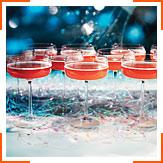 Гранатовий коктейль з шампанським