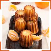 Бордоські апельсиново-ванільні канелле з ромом