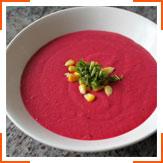 Свекольный суп с кокосовым молоком