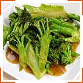 Жареная брокколи с устричным соусом