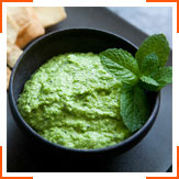 Хумус из зеленого горошка