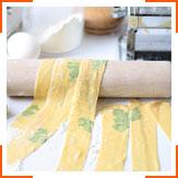 Домашняя паста с зеленью