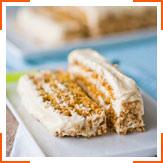 Імбирно-цитрусовий морквяний торт