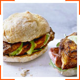 Пряные каджунские бургеры с курицей