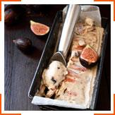 Мороженое с инжиром