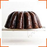Шоколадный торт с мини-печеньем