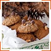Вівсяно-горіхове печиво з вишнею