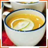 Гарбузово-яблучний крем-суп