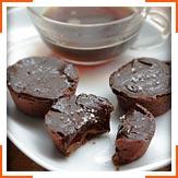 Шоколадно-карамельные тарталетки