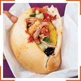 Тунисский сандвич с тунцом