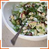 Яблучний салат з руколою і селерою