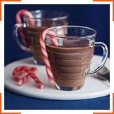 Гарячий шоколад з присмаком м'яти