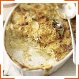 Картопляно-цибулевий гратен