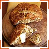 Черный масляно-содовый хлеб