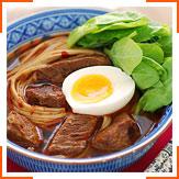 Сичуанський суп з тушкованою яловичиною та локшиною