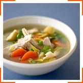 Овочевий суп з куркою