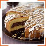 Шоколадный пасхальный пирог