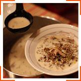 Суп с диким рисом и кленовым сиропом