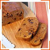 Гарбузовий хліб з фініками