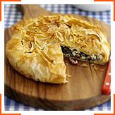 Хрустящий пирог в грецком стиле
