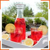 Полунично-ревеневий лимонад
