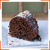 Шоколадний кекс з кокосом і медом