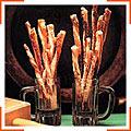 Сырные палочки с тмином