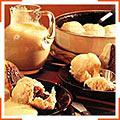 Пиріжки із дріжджового тіста з начинкою