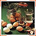Старинный рецепт маринованных яиц