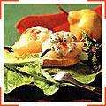 Закуска из груш и сыра Данаблю