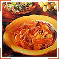 Макароны с колбасой и грибами