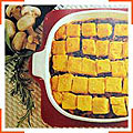 Клецки из манной каши запечены с мясом
