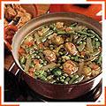 Овощной суп с мясными клецками