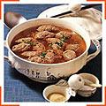 Суп з печінковими галушками